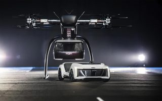 Italdesign con Audi e Airbus per Pop.Up Next